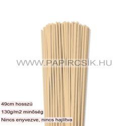3mm maslová papierové prúžky na quilling (120 ks, 49 cm)