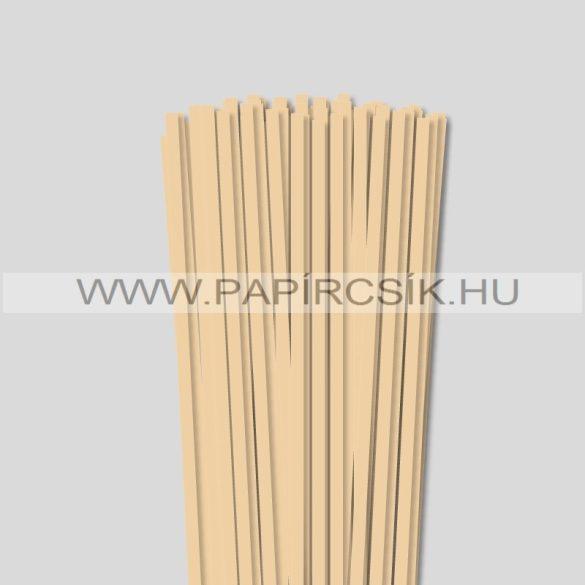 6mm maslová papierové prúžky na quilling (90 ks, 49 cm)