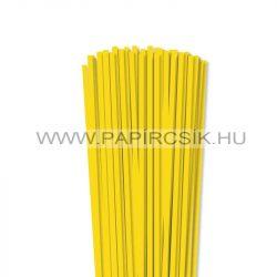 5mm žltá papierové prúžky na quilling (100 ks, 49 cm)