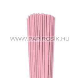 4mm ružová papierové prúžky na quilling (110 ks, 49 cm)