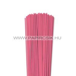 3mm stredne ružová papierové prúžky na quilling (120 ks, 49 cm)