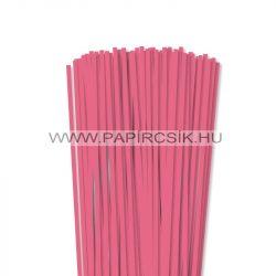 5mm stredne ružová papierové prúžky na quilling (100 ks, 49 cm)