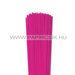 4mm Pink papierové prúžky na quilling (110 ks, 49 cm)