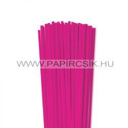 5mm Pink papierové prúžky na quilling (100 ks, 49 cm)