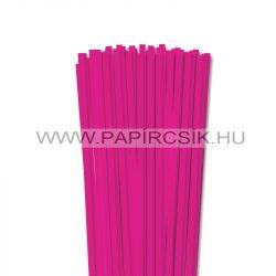 6mm Pink papierové prúžky na quilling (90 ks, 49 cm)