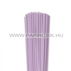 4mm fialová papierové prúžky na quilling (110 ks, 49 cm)