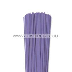 3mm modrofialová papierové prúžky na quilling (120 ks, 49 cm)
