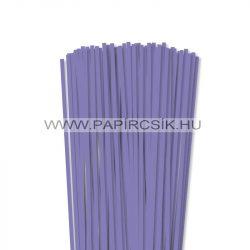 5mm modrofialová papierové prúžky na quilling (100 ks, 49 cm)
