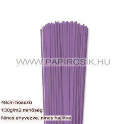 3mm orgovánová papierové prúžky na quilling (120 ks, 49 cm)