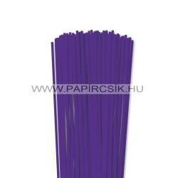 4mm fialková papierové prúžky na quilling (110 ks, 49 cm)