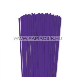 5mm fialková papierové prúžky na quilling (100 ks, 49 cm)