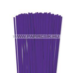 6mm fialková papierové prúžky na quilling (90 ks, 49 cm)
