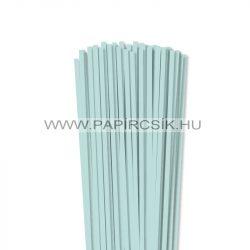 5mm svetlo modrá papierové prúžky na quilling (100 ks, 49 cm)