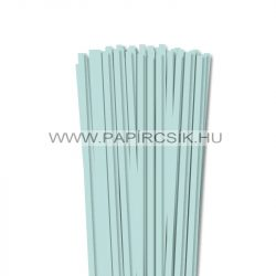 6mm svetlo modrá papierové prúžky na quilling (90 ks, 49 cm)