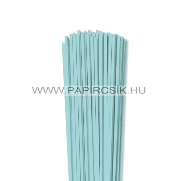 4mm stredne modrá papierové prúžky na quilling (110 ks, 49 cm)