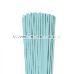 5mm stredne modrá papierové prúžky na quilling (100 ks, 49 cm)