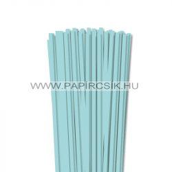 6mm stredne modrá papierové prúžky na quilling (90 ks, 49 cm)