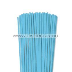 5mm nebeská modrá papierové prúžky na quilling (100 ks, 49 cm)