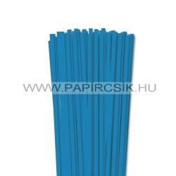 6mm modrá papierové prúžky na quilling (90 ks, 49 cm)