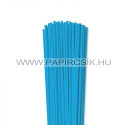 4mm modrá pacific papierové prúžky na quilling (110 ks, 49 cm)