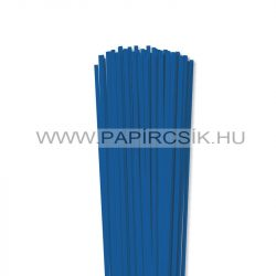 4mm kráľovská modrá papierové prúžky na quilling (110 ks, 49 cm)