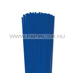 5mm ultramarínová papierové prúžky na quilling (100 ks, 49 cm)
