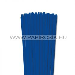 6mm ultramarínová papierové prúžky na quilling (90 ks, 49 cm)