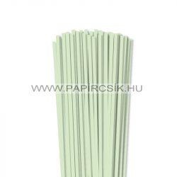 5mm svetlozelená papierové prúžky na quilling (100 ks, 49 cm)