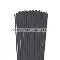 5mm antracitová papierové prúžky na quilling (100 ks, 49 cm)