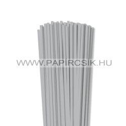 5mm strieborná papierové prúžky na quilling (100 ks, 49 cm)