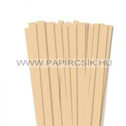 10mm maslová papierové prúžky na quilling (50 ks, 49 cm)