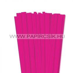 10mm Pink papierové prúžky na quilling (50 ks, 49 cm)