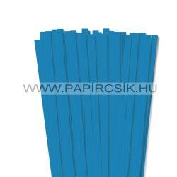10mm modrá papierové prúžky na quilling (50 ks, 49 cm)