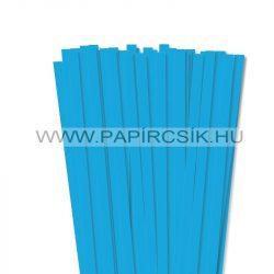 10mm modrá pacific papierové prúžky na quilling (50 ks, 49 cm)