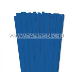 10mm kráľovská modrá papierové prúžky na quilling (50 ks, 49 cm)