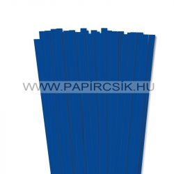 10mm ultramarínová papierové prúžky na quilling (50 ks, 49 cm)