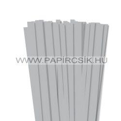10mm strieborná papierové prúžky na quilling (50 ks, 49 cm)