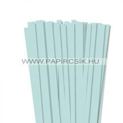 10mm svetlo modrá papierové prúžky na quilling (50 ks, 49 cm)