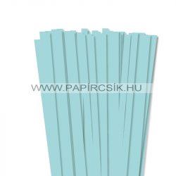 10mm stredne modrá papierové prúžky na quilling (50 ks, 49 cm)