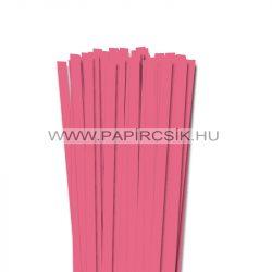 Közép rózsaszín, 10mm-es quilling papírcsík (50db, 49cm)
