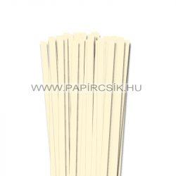 10mm slonovinová papierové prúžky na quilling (50 ks, 49 cm)