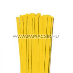 10mm žltá banánová papierové prúžky na quilling (50 ks, 49 cm)