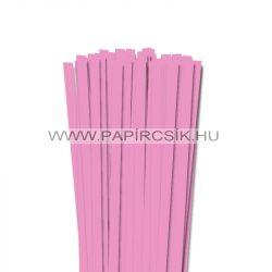 10mm baby svetloružová papierové prúžky na quilling (50 ks, 49 cm)