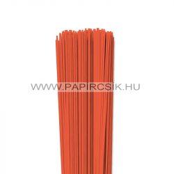 Narancs, 2mm-es quilling papírcsík (120db, 49cm)