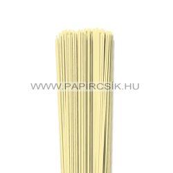 Szalmasárga, 2mm-es quilling papírcsík (120db, 49cm)