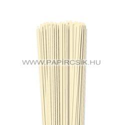 3mm slonovinová papierové prúžky na quilling (120 ks, 49 cm)