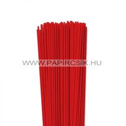 3mm korálovo červená  papierové prúžky na quilling (120 ks, 49 cm)