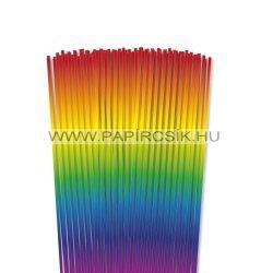 3mm farba papierové prúžky na quilling (120 ks, 48 cm)