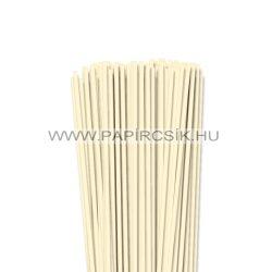 4mm slonovinová papierové prúžky na quilling (110 ks, 49 cm)