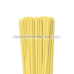 4mm kanáriková žltá papierové prúžky na quilling (110 ks, 49 cm)
